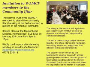 WAMCF Big Iftar