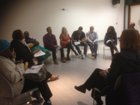 HIV/AIDS panel included members of Thames Valley Positive Support