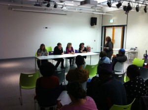 Rev Linda Hillier and the autism panel